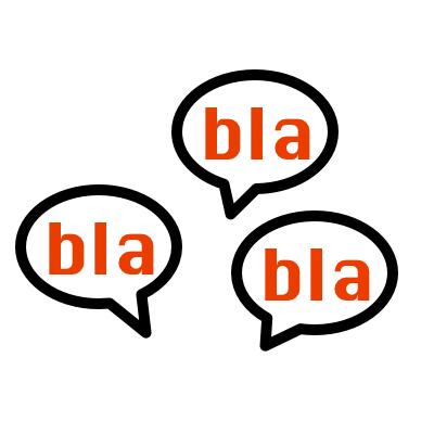 bla bla bla, špatný self-talk