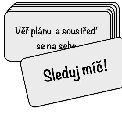 cue-cards jako metoda na zlepšení self-talk