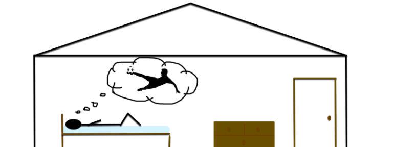 vizualizace, trenink z domova